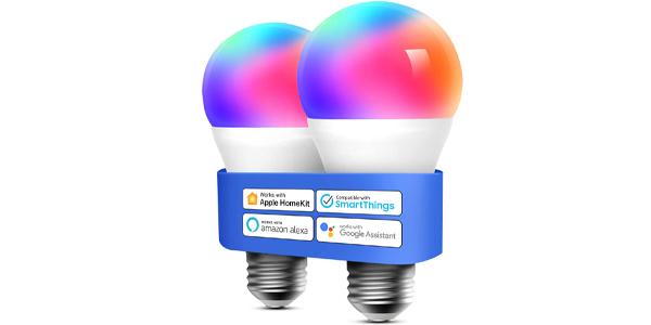 Pack x2 Bombillas LED Wifi Meross barato en Amazon