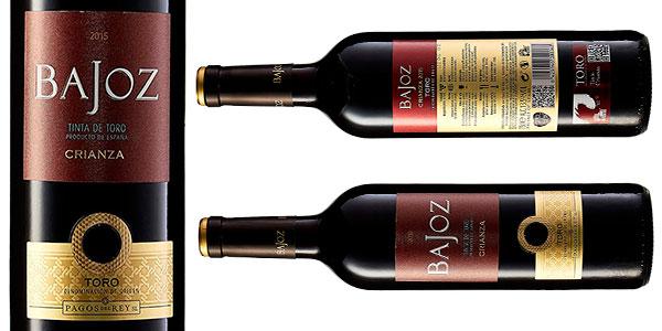 Pack de 6 botellas de vino tinto Bajoz Crianza con D.O. Toro de 750 ml barato