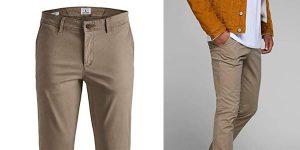 Pantalones chinos Marco Bowie Jack Jones baratos en Amazon