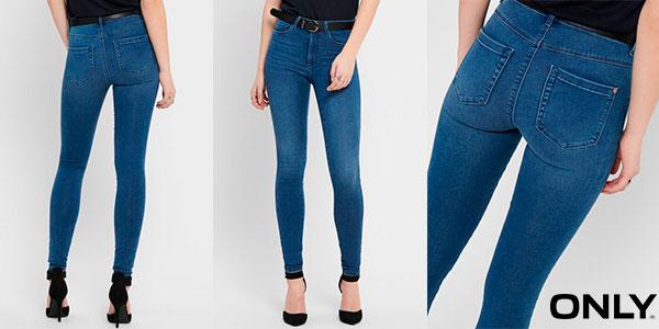 Chollo Pantalones vaqueros Only Onlroyal Skinny Fit para mujer