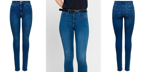 Pantalones vaqueros Only Onlroyal Skinny Fit para mujer baratos