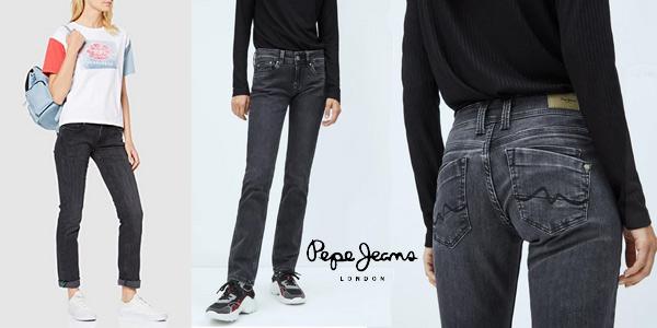 Pantalones vaqueros Pepe Jeans Saturn para mujer chollazo en Amazon