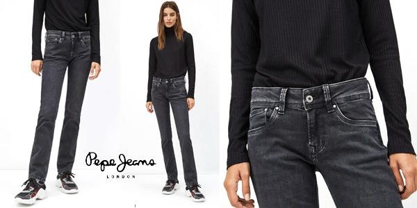 Pantalones vaqueros Pepe Jeans Saturn para mujer baratos en Amazon