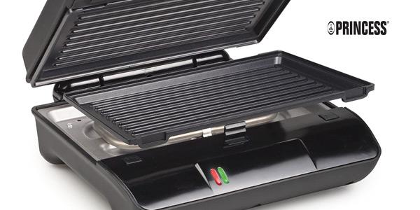 Parrilla Princess Grill Compact Flex de placas extraíbles y almacenamiento vertical de 700 W oferta en Amazon
