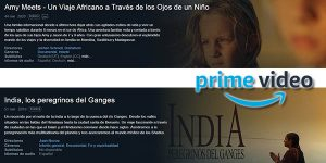 películas y series de viajes gratis en Amazon Prime Video