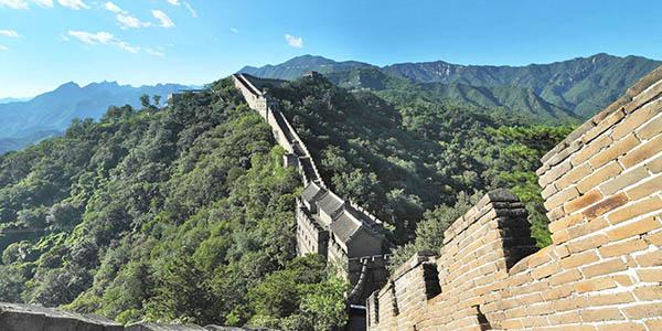 recorrido online por la Gran Muralla China
