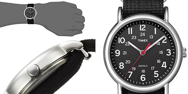 reloj Timex RG con correa de tela y diseño casual a precio de chollo