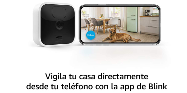 Reserva la nueva Blink Indoor con vídeo HD y audio bidereccional en Amazon España