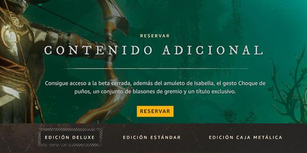 Reserva New World en Amazon