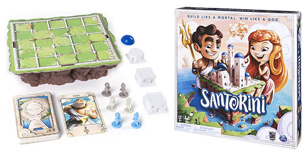 Santorini juego de mesa de estrategia barato