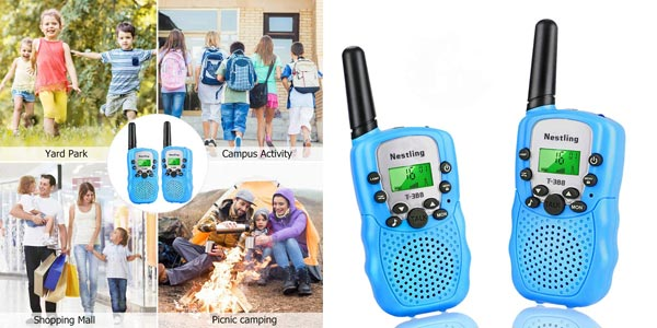 Set x2 Walkie Talkie Nestling para niños barato en Amazon