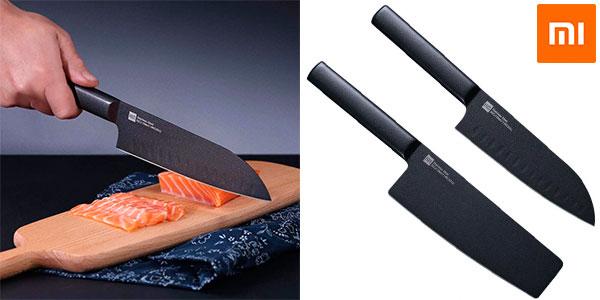 Set de cuchillos Xiaomi Mijia antiadherentes barato