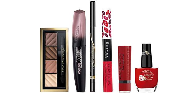 Set de maquillaje Rimmel London, Max Factor, y Bourjois barato en Amazon