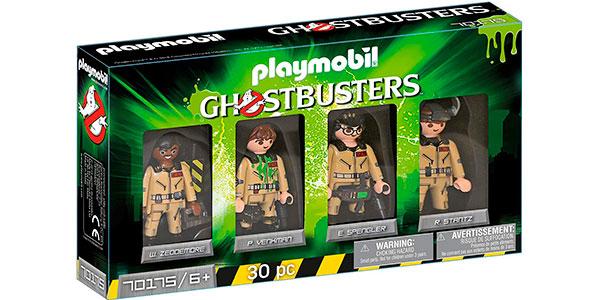 Set Playmobil Cazafantasmas con 4 figuras protagonistas barato