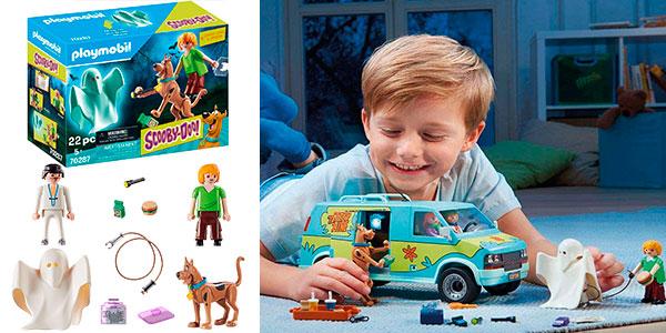 Set Scooby-Doo & Shaggy con Fantasma de Playmobil barato