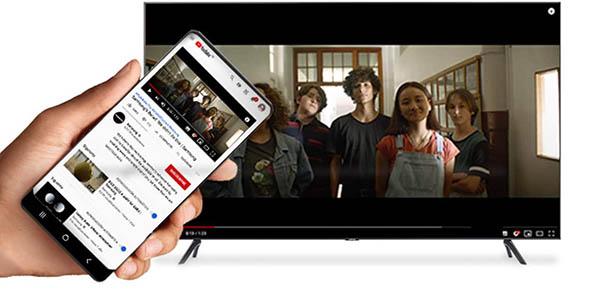 "Smart TV Samsung Crystal 2020 43TU7095 UHD 4K de 43"" barato"