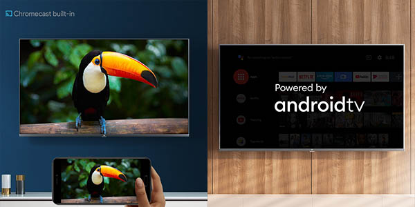 Smart TV Xiaomi Mi TV 4S UHD 4K HDR con Android TV