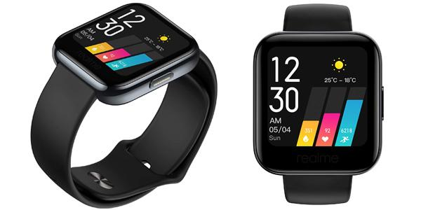 Reloj inteligente realme Watch con 14 modos deportivos barato en Amazon