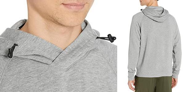 Sudadera Amazon Peak Velocity Yoga Luxe Fleece Pullover Hoodie para hombre chollo en Amazon