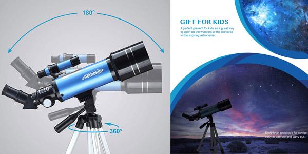 Telescopio Aomekie para niños chollo en Amazon