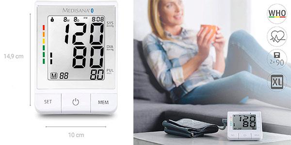Tensiómetro de brazo Medisana Connect BU-530 con Bluetooth barato
