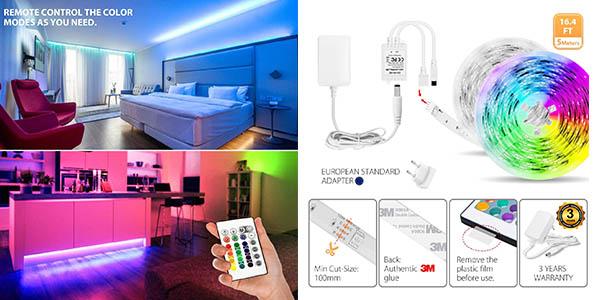tira de luces LED regulable LVWIT oferta