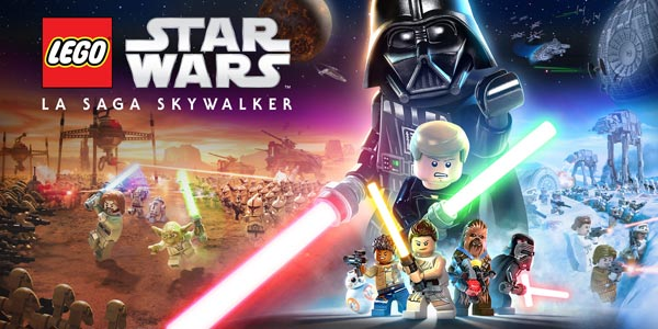 Reservar videojuego LEGO Star Wars La Saga Skywalker en Amazon