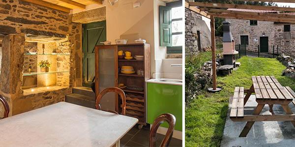 Villa Valedoso casa rural de piedra económica en A Coruña