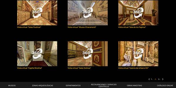 visita virtual por la Ciudad del Vaticano y la Capilla Sixtina gratis