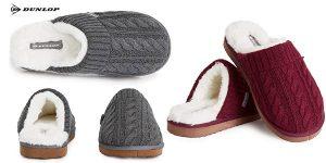 Zapatillas de casa Dunlop para hombre baratas en Amazon
