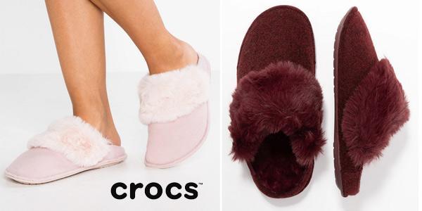Zapatillas Crocs Classic Luxe Slipper oferta en Amazon