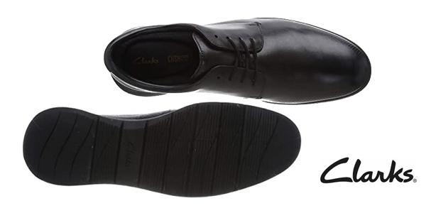 Zapatos de cordones Clarks Helston Walk para hombre chollo en Amazon