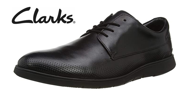 Zapatos de cordones Clarks Helston Walk para hombre oferta en Amazon