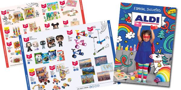 Aldi catálogo de juguetes Navidad 2020