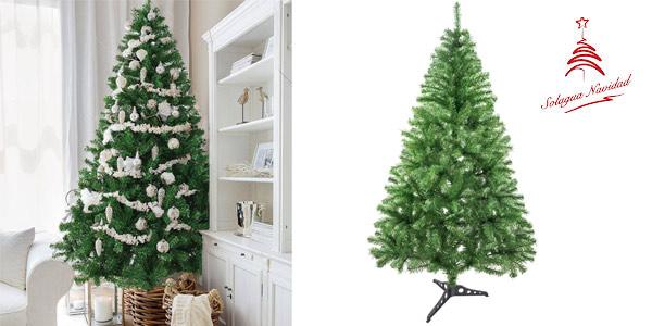 Árbol de Navidad Artificial Solagua de 150 cm y 273 ramas barato en Amazon