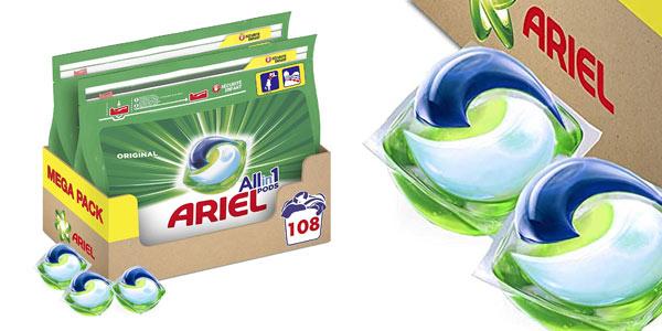 Ariel Pods All in One Original barato en Amazon