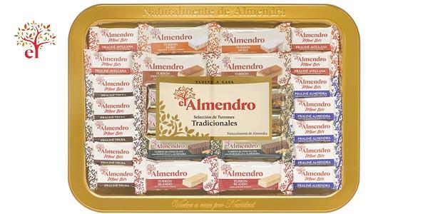 Bandeja Selección Turrones tradicionales El Almendro de 400 gr barata en Amazon