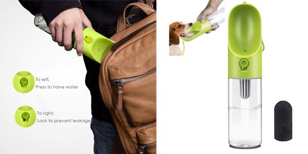 Recipiente portátil de agua Petkit Evergreen para perros con filtro barato en Amazon