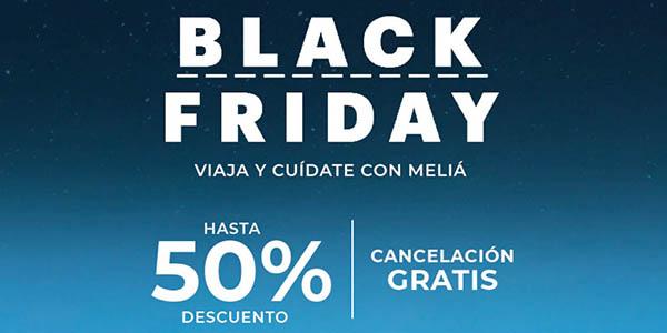 Black Friday 2020 Melià Hoteles