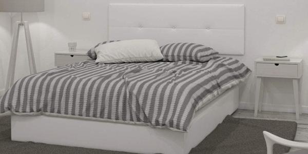 Cabecero tapizado Julie para cama 150 cm barato en Amazon