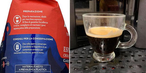 Café en grano tostado Lavazza Crema e Gusto Classico de 1 kg barato
