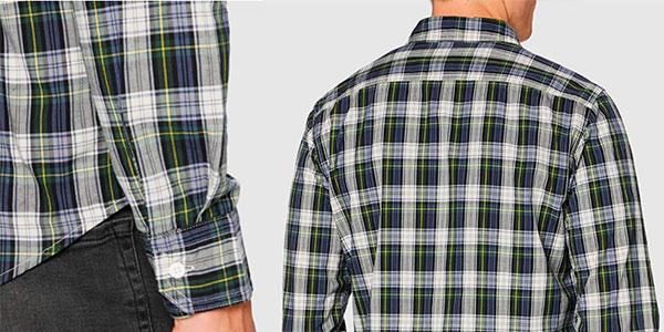 Camisa Levi's estampada de cuadros para hombre barata