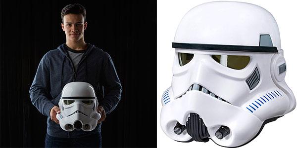 Casco Stormtrooper de Star Wars con distorsión de voz barato