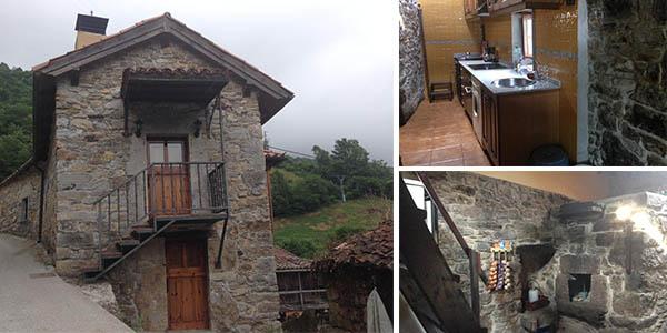 chalet de montaña en Belmonte de Miranda chollo alojamiento para grupos