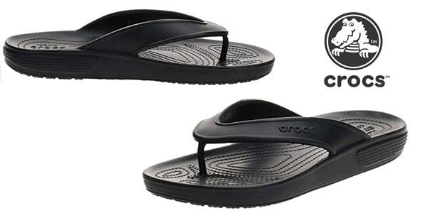Chanclas Crocs Classic II Flip baratas en Amazon