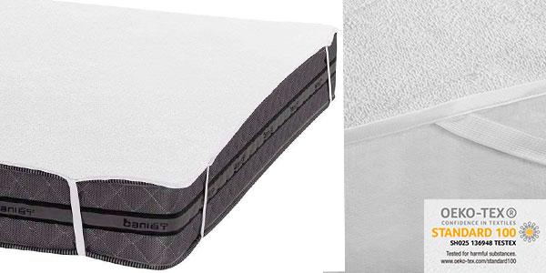 Chollo Protector de colchón Bedecor impermeable de 150 x 200 cm
