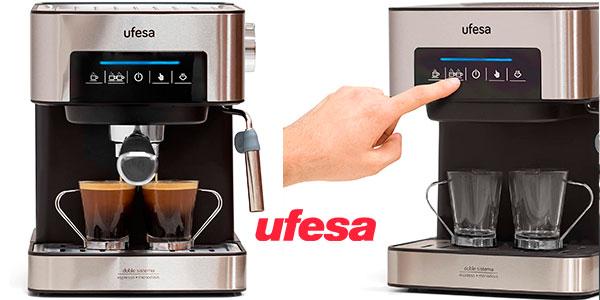 Chollo Cafetera Ufesa CE7255 para café molido o monodosis y capuccinos