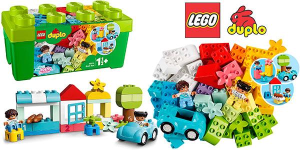 Chollo Caja de ladrillos de construcción LEGO Duplo con 2 figuras