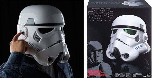 Chollo Casco Stormtrooper de Star Wars con distorsión de voz