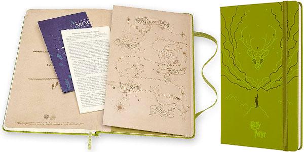 Cuaderno grande Moleskine Harry Potter de edición limitada en oferta